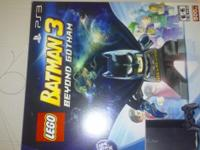 ITS A GREAT DEAL LEGO BATMAN 3 IN BOX. LIKE NEW. 500GB