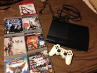 Made use of PS3 500Gb Black, has original box and