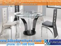 NJ-NY Glass / Metal / PVC Color: Clear / Black