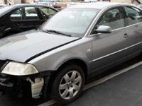We are parting out 2001 VW Passat B5.5 (see details