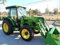 John Deere 5083E with a 553 Loader 0% for 60 Months and