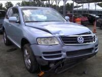 We are parting out 2003 VW Touareg (see details