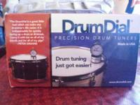 I have a drum dial which is used to tune drums. It is