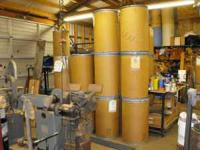 LOWEST PRICE EVER.... 50 gallon fiber drums with