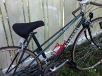 I have a 50 cm Raleigh Wyoming Mix tie touring bike