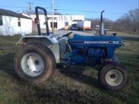 I HAVE A VERY NICE 2000 MODEL FARMTRAC 60 50HP DIESEL