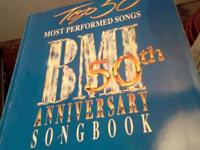 Piano Vocal Cord 50th Anniversary Songbook BMI Top 50