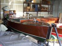 This is one of the rarest model antique Chris Craft