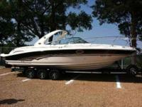 2001 Sea Ray 290 SUN SPORT 2012 Custom Trailer Included