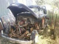 for sale 51 chevy pickup project got cab bed good hood