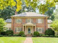 Classic brick Colonial in Westover Hills offering