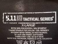 Selling  like new  5.11 TACTICAL SERIES    XL FROM  A