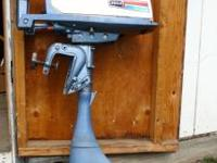 5 1/2 hp Outboard motor ESKA Older motor but only about