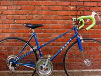Rare Puch Mixte, new tires/tubes, new tape, front quick