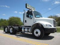 2007 Freightliner M2-112 Tandem Axle Daycab, C-13 CAT,