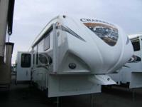 2013 COACHMEN CHAPARRAL 32' , WHT/FALL RIVER, Hitch
