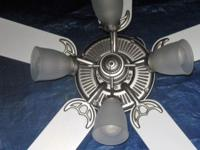 "52"" ceiling fan in great running condition it comes"