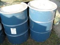 these used metal barrels have been used in food storage