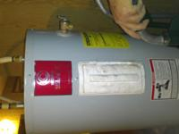 52 gallon hot water heater around 3-4 yes old. Has
