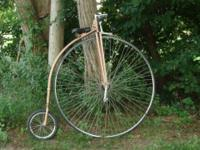 Up for sale is a highwheel that I've developed. 52""