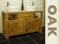Our Oak Vanity truly is solid oak wood with its natural