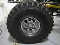 new set of tires and Helo 20 inch rims, the tires are