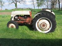 52 Model 8 N For Tractor- good tires $1400 Call  //