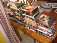 52 VHS Movies 3 DVDs 1 PC Video game: The Complete