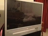 "52"" RCA projection flat screen tv for sale or trade for"