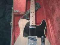 I am selling my 52 reissue telecaster. I believe it is