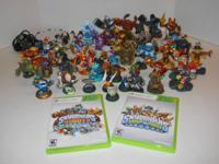 (52) Skylanders Giants Swap Force & Regular Figures +
