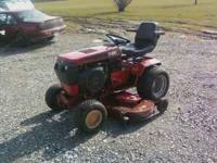 1990 wheelhorse (toro) 520H , with a 60 in deck, also