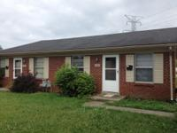 For lease is a two bedroom, one bath duplex. Unit is