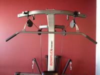 Barely used Bowflex Xtreme 2. Retailed for over $1200