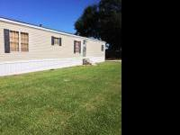 1999 16'x80' mobile home 3 bed 2 bath and land 155'x75'