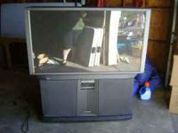 "53"" Hitachi Projection TV Call Now ONLY $300.00"