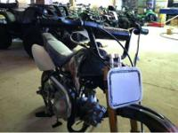 New 2013 70cc Coolster. Semi-automatic, three gears,