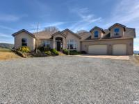 Exceptional home on 10 rolling acres! Sweeping Sierra