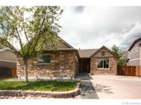 Attractive & well maintained ranch home with open floor