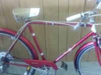 I have an unusual 53cm Dunelt 5spd English bike
