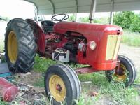 THIS IS A 990 DAVID BROWN DIESEL TRACTOR-- IT IS 53