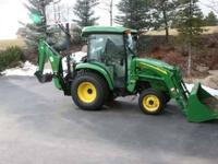 2008 John Deere 3720 Tractor, 44hp diesel engine, hydro