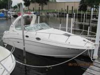 2002 Sea Ray 280 SUNDANCER, Premium express cruiser