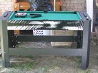 I have a nice mini air hockey / pool table with all
