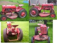 all original cub in good condition ,runs good,turf