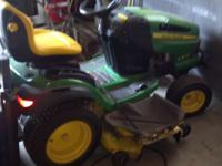 "54"" cutting range, John Deere $1800 Just serviced with"