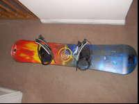 This snowboard has actually just been made use of as