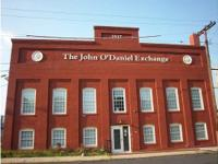 Lately renovated, the historical John O'Daniel Exchange