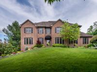 Sensational Andover Estates home on a beautifully