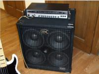 GK 700 RB Mark II Bass HeadGallien-Krueger RBX 410Amp